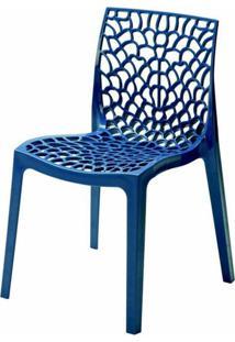 Cadeira Gruver Polipropileno Azul - 23076 Sun House