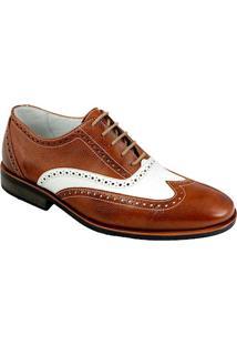 Sapato Social Masculino Oxford Sandro Moscoloni Robert Marrom