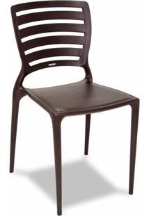 Cadeira Sofia Li Marrom