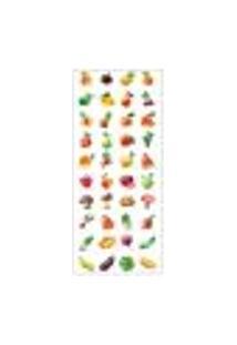 Adesivo Decorativo De Porta - Frutas - 208Pt Auto Colante