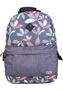 Mochila Fatal Ftm1801100 - Unissex-Floral