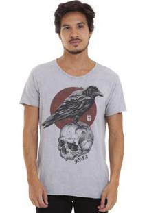 Camiseta Joss Estonada Corte À Fio Masculina - Masculino