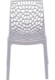 Cadeira Gruvyer- Bege- 80,5X52,5X42Cm- Or Designor Design
