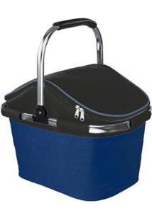 Cooler Nautika Bistrô 28 Latas - Unissex-Azul+Preto