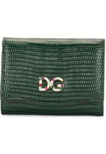 Dolce & Gabbana Carteira Pequena - Verde