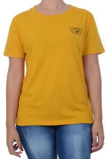 Blusa Vans Full Patch Crew Preta - Amarelo / P