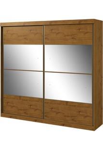 Guarda-Roupa Da Vinci New - 2 Portas - Rovere Soft - Com Espelho
