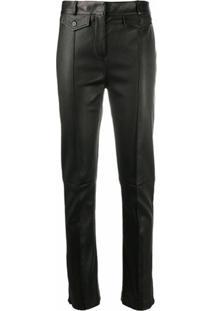 Tom Ford Calça Skinny De Couro - Marrom