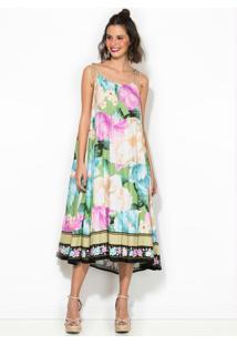 Vestido Midi Liz Verde