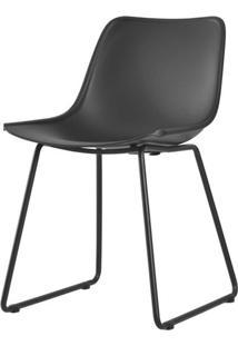 Cadeira Clyde Preta Com Base Preta - 58170 - Sun House