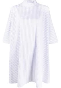 Givenchy Blusa Oversized Risca De Giz - Branco
