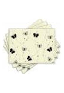 Jogo Americano - Borboletas Com 4 Peças - 609Jo