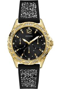 Relógio Guess Feminino Borracha Preta - 92714Lpgsdu1