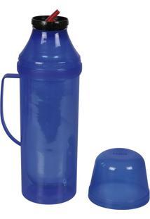 Garrafa Térmica Diva Flip 1L Azul