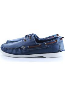 Dockside Couro St Hommes Azul