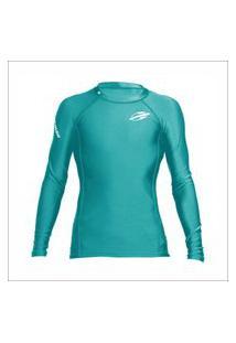 Camiseta Manga Longa Feminina Next 3A Surf Mormaii Azul .