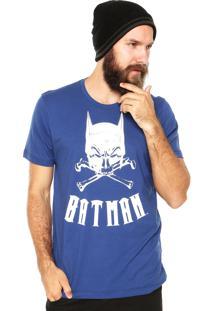Camiseta Fashion Comics Batman Azul