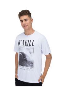 Camiseta O'Neill Barrel Poste - Masculina - Branco