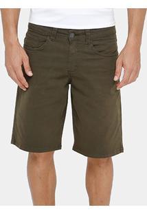 Bermuda Jeans Billabong Walk Butter Masculina - Masculino-Verde Militar