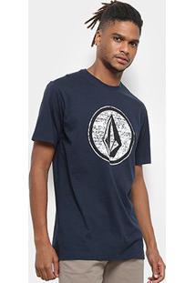 Camiseta Volcom Silk Classic Stone Masculina - Masculino
