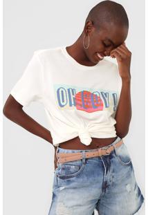Camiseta Oh, Boy! New Off-White - Kanui