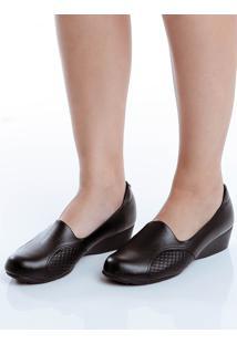 Sapato Anabela Conforto Modare