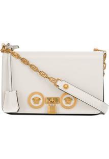 77477895c Farfetch. Bolsa Branca Feminina Giani Versace Ouro ...