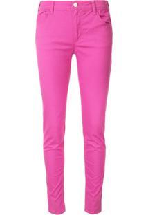 Emporio Armani Calça Jeans Skinny Com Stretch - Rosa
