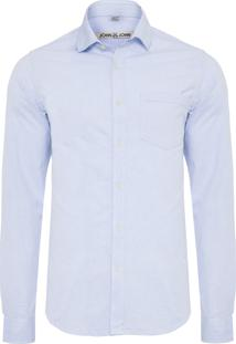 Camisa Masculina Josh - Azul