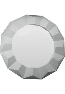 Espelho De Parede Border 60X60Cm Branco