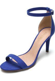 Sandália Fiveblu Salto Fino Azul