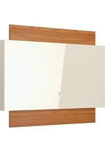 Painel Para Tv 55 Polegadas Lautrec I Off White E Freijó