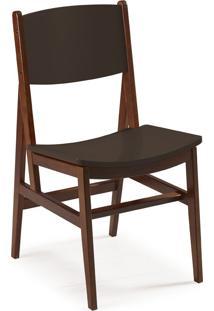 Cadeira Dumon 87 Cm 951 Cacau/Marrom Escuro - Maxima
