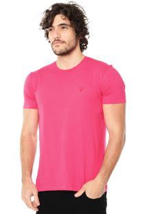 Camiseta Vr Clean Rosa