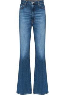 J Brand Calça Jeans Bootcut Desbotada - Azul