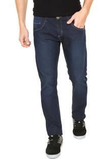 Calça Jeans Ride Skateboard Slim Lisa Azul
