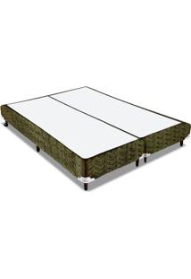 Cama Box Orthocrin Sommier Plus Nature King 193