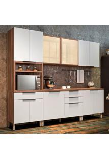 Cozinha Donna Completa - 5 Peças - 500249 - Branco - Nesher