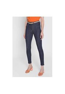 Calça Jeans Lança Perfume Skinny Tag Azul