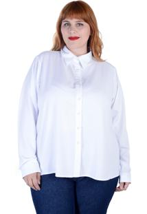 Camisa Clássica Branca Manga Longa (, Gg)