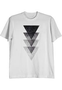 Camiseta Cnx Clothing Triângulos Branca