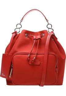Bucket Bag Nylon Red | Schutz