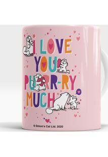 Caneca I Love You Purr-Ry Much