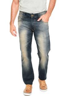 Calça Jeans Mr Kitsch Confort Azul