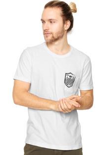 Camiseta Osklen Bolso Branca