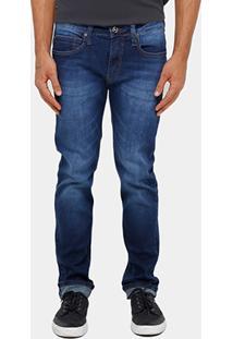 Calça Jeans Slim Fit Colcci Alex Stone Masculina - Masculino