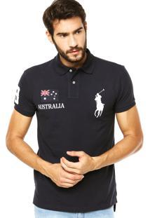 Camisa Polo Ralph Lauren Austrália Azul