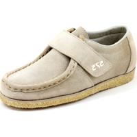 6c8adc9b16921 Sapato Cacareco Confortável 575 Camurça Bege