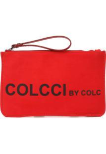 Clutch Colcci Silk Vermelha