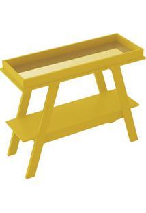 Aparador Prix Com Espelho Amarelo - Líder Design